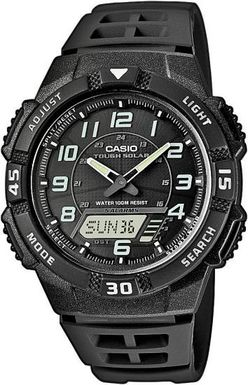 CASIO AQ S800W-1B Tough Solar